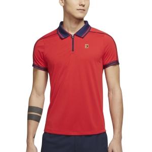 Polo Tenis Hombre Nike Court DriFIT ADV Slam Polo  University Red/Binary Blue DA4325657
