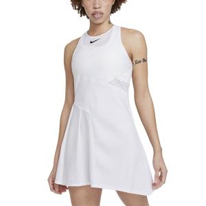 Tennis Dress Nike Court DriFIT ADV Slam Dress  White/Black CV4865100