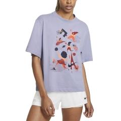 Nike Court Dri-FIT T-Shirt - Indigo Haze