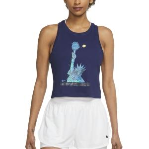 Top de Tenis Mujer Nike Court DriFIT NYC Liberty Top  Binary Blue DJ2589429