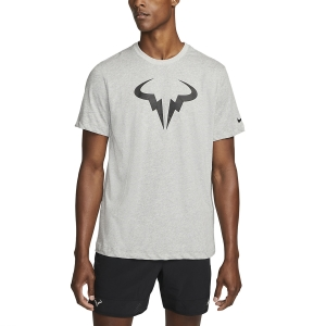 Men's Tennis Shirts Nike Court DriFIT Rafa TShirt  Dark Grey Heather/Black DJ2582063