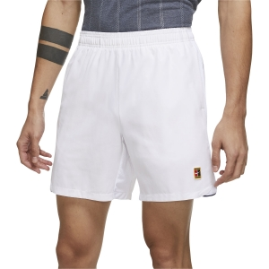 Men's Tennis Shorts Nike Court DriFIT Slam 7in Shorts  White DA4354100