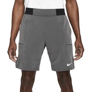 Men's Tennis Shorts Nike Court DriFIT Slam 9in Shorts  Black/Dark Smoke Grey/White CV2709010