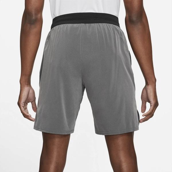 Nike Court Dri-FIT Slam 9in Shorts - Black/Dark Smoke Grey/White