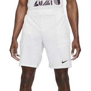 Men's Tennis Shorts Nike Court DriFIT Slam 9in Shorts  White/Black CV2709100