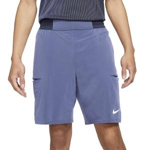 Men's Tennis Shorts Nike Court DriFIT Slam 9in Shorts  Obsidian/Dark Purple Dust/White CV2709451