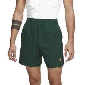 Pantalones Cortos Tenis Hombre Nike Court DriFIT Slam 7in Shorts  Gorge Green/Binary Blue/White DA4354341