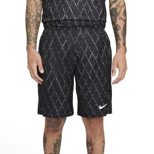 Men's Tennis Shorts Nike Court DriFIT Victory 9in Shorts  Black/White DA4372010