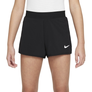 Shorts and Skirts Girl Nike Court DriFIT Victory 3in Shorts Girl  Black/White DB5612010