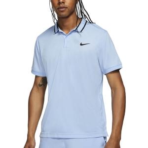 Polo Tennis Uomo Nike Court DriFIT Victory Polo  Aluminum/Black CW6848468