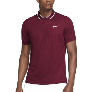 Polo Tenis Hombre Nike Court DriFIT Victory Polo  Dark Beertroot/White CW6848638