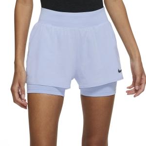 Skirts, Shorts & Skorts Nike Court Flex Victory 2in Shorts  Aluminum/Black CV4817468