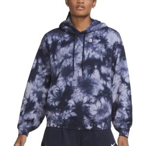 Camisetas y Sudaderas Mujer Nike Court TieDye Sudadera  Indigo Haze/Obsidian DC7447519