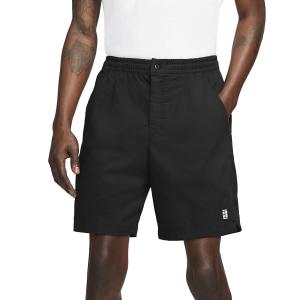 Men's Tennis Shorts Nike Court Heritage 8in Shorts  Black CK9845011