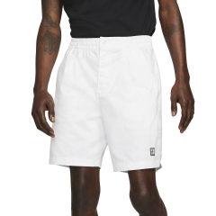 Nike Court Heritage 8in Shorts - White