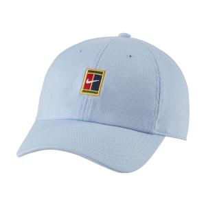 Tennis Hats and Visors Nike Court Heritage86 Cap  Aluminum DJ6147468