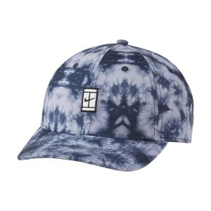 Tennis Hats and Visors Nike Court Heritage86 Cap  Indigo Haze DH2051519