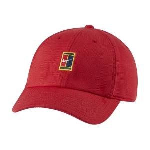 Tennis Hats and Visors Nike Court Heritage86 Cap  University Red DJ6147657