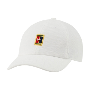 Tennis Hats and Visors Nike Court Heritage86 Cap  White DJ6147102