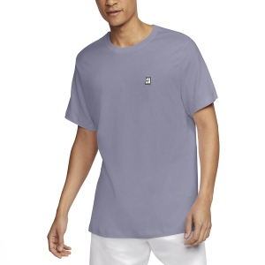 Men's Tennis Shirts Nike Court TShirt  Indigo Haze/White BV5809519