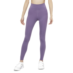 Women's Tennis Pants and Tights Nike One Tights  Amethyst Smoke/White DD0252574