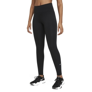 Women's Tennis Pants and Tights Nike One Tights  Black/White DD0252010