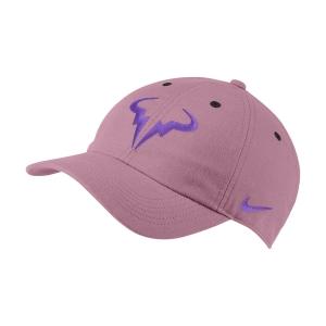 Nike Court Rafa Aerobill H86 Gorra  Elemental Pink/Wild Berry 850666698