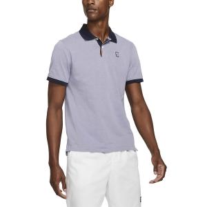 Men's Tennis Polo Nike Court Slim Polo  Indigo Haze/Obsidian CV7876519