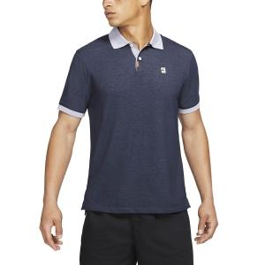 Polo Tenis Hombre Nike Court Slim Polo  Obsidian/Indigo Haze CV7876451