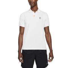 Nike Court Slim Polo - White