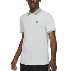 Nike Court Slim Polo - White/Steam