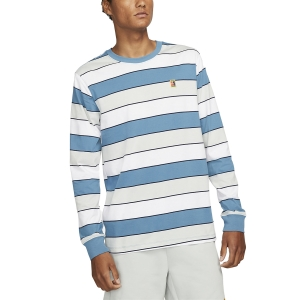 Camisetas y Sudaderas Hombre Nike Court Style Camisa  Riftblue DJ2807415