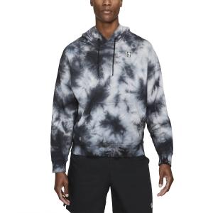 Camisetas y Sudaderas Hombre Nike Court TieDye Sudadera  White DC9684100
