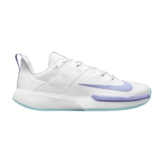 Nike Court Vapor Lite HC - White/Purple Pulse/Copa