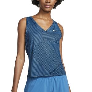 Top de Tenis Mujer Nike Court Victory Top  Obsidian/White DA4754451