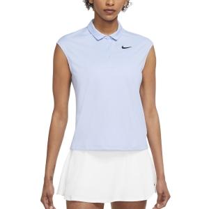 Women`s Tennis Tanks Nike Court Victory Classic Tank  Aluminum/Black CV2473468