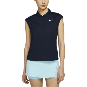 Women`s Tennis Tanks Nike Court Victory Classic Tank  Obsidian/White CV2473451