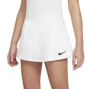 Shorts and Skirts Girl Nike Court Victory Skirt Girl  White/Black CV7575100