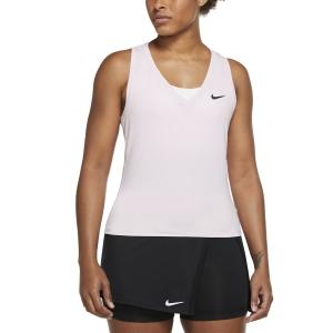Women`s Tennis Tanks Nike Court Victory Logo Tank  Regal Pink/Black CV4784695