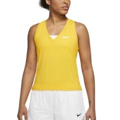 Nike Court Victory Logo Tank - University Gold/White