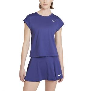 Women`s Tennis T-Shirts and Polos Nike Court Victory TShirt  Dark Purple Dust/White CV4790510