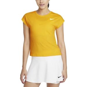 Women`s Tennis T-Shirts and Polos Nike Court Victory TShirt  University Gold/White CV4790739