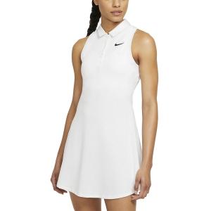 Tennis Dress Nike Court Victory Dress  White/Black CV4837100