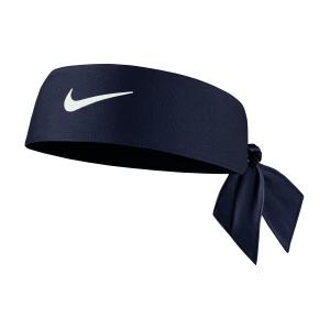 Tennis Headbands Nike DriFIT 4.0 Headband  Midnight Navy/White N.100.2146.401.OS