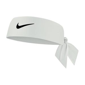 Tennis Headbands Nike DriFIT 4.0 Headband  White/Black N.100.2146.101.OS