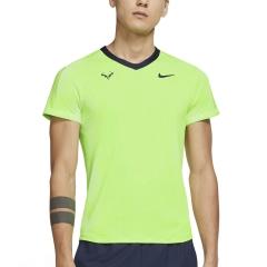 Nike Dri-FIT ADV Rafa T-Shirt - Lime Glow/Obsidian