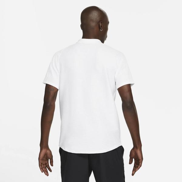 Nike Dri-FIT ADV Slam Polo - White/Black