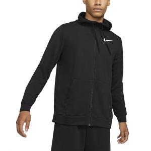 Men's Tennis Shirts and Hoodies Nike DriFIT Classic Hoodie  Black/White CZ6376010