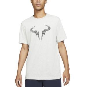 Men's Tennis Shirts Nike DriFIT Rafa Clay TShirt  Grey Heather/Black DD2248050