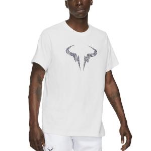 Camisetas de Tenis Hombre Nike DriFIT Rafa Clay Camiseta  White/Obsidian DD2248100